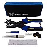 Skilled Crafter Leather Belt Puncher with