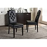 Amazon Com Nailhead Chairs Kitchen Dining Room Furniture