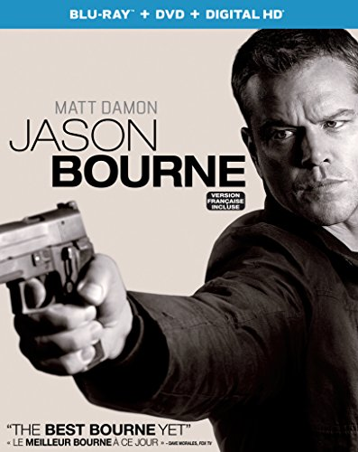 Jason Bourne [Blu-ray + DVD + Digital HD]