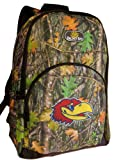 Broad Bay University of Kansas Backpacks Official CAMO KU Jayhawks Backpack