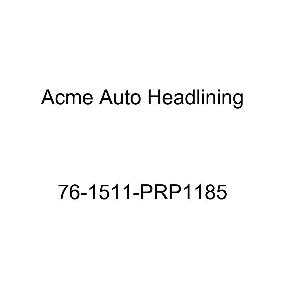 Acme Auto Headlining 76-1511-PRP1185 Brown Replacement Headliner 1976 Pontiac Catalina 2 Door Hardtop 5 Bow