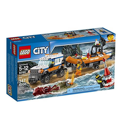 LEGO City Coast Guard 4 x 4 Response Unit 60165 Building Kit
