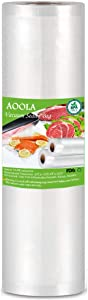AOOLA Vacuum Food Sealer Rolls Bags, 11
