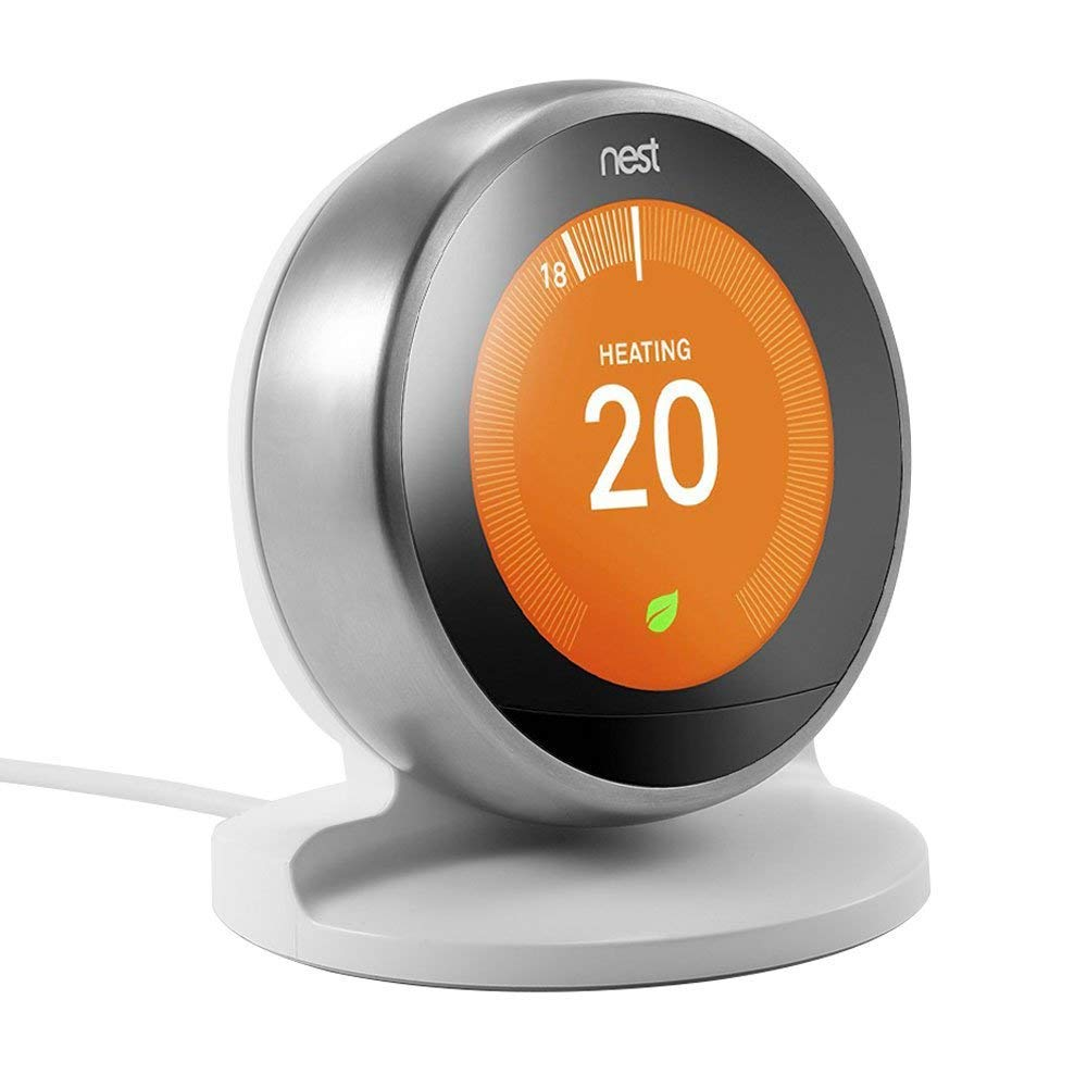 EEEKit Stand Holder/Bracket for Nest Learning Thermostat, 3rd / 2nd Generation (Black)
