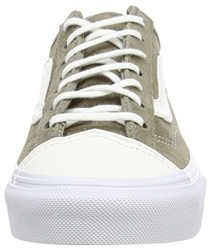 Vans Style 36 Slim - Zapatillas Unisex adulto blanco - White (Leather Tc - Brindle)