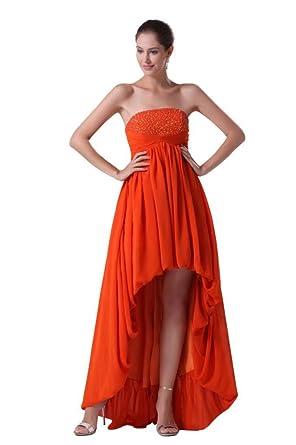 5373c00a981 Orifashion Sympa Robe de soirée courte devant longue derrière(modèle  EDSHER0096)