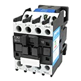 Baomain AC Contactor CJX2-1810 220V 50Hz 660V 32 Amp 3 Phase 3-Pole NO DIN rail