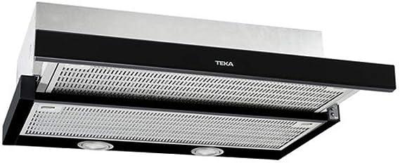 Teka CNL 6415 385 m³/h Semintegrada (extraíble) Negro A - Campana (385 m³/h, Recirculación, D, 57 dB, 64 dB, Semintegrada (extraíble)): Amazon.es: Grandes electrodomésticos