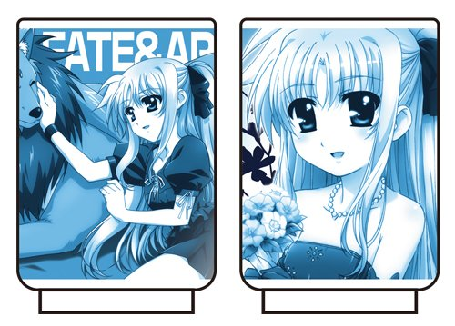 Magical Girl Lyrical Nanoha The MOVIE 1st Fate & Alf Cup by COSPA