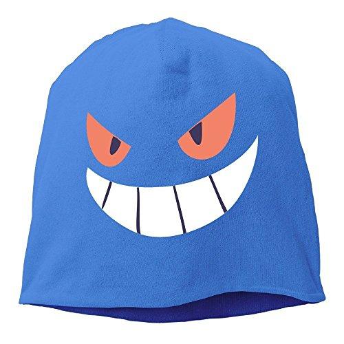 Gengar Halloween Face Men & Women Hip-Hop Beanie Skull Cap Hat -