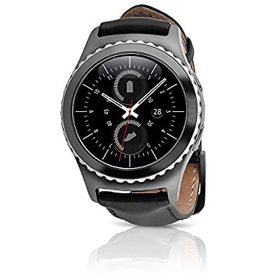 Samsung Gear S2 Classic Smartwatch 4G T-Mobile SM-R735T with Leather Band (Certified Refurbished)