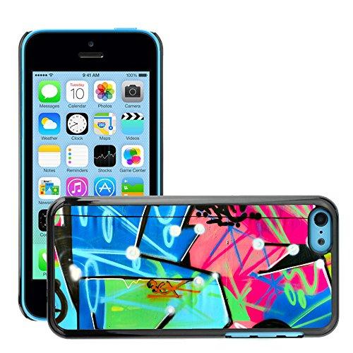 Premio Sottile Slim Cassa Custodia Case Cover Shell // V00002344 Graffiti // Apple iPhone 5C