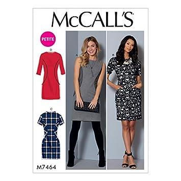 Unbekannt McCall \'s Damen Schnittmuster mit 7464 Hotelwagen mit ...