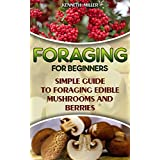 Foraging For Beginners Simple Guide to Foraging Edible Mushrooms and Berries: (Foraging, Edible Plants, Wild Berries) (edible wild plants, edible flowers,edible mushrooms)