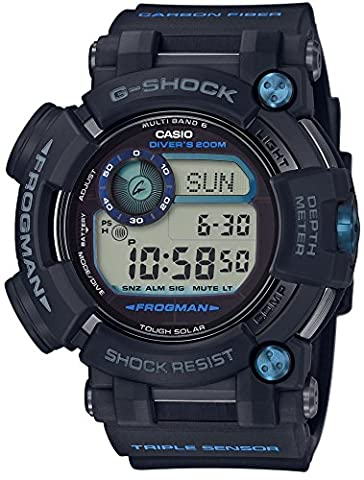 CASIO G-SHOCK Master of G FROGMAN MULTI BAND 6 GWF-D1000B-1JF MENS JAPAN IMPORT (Gshock Watches Master Of G)