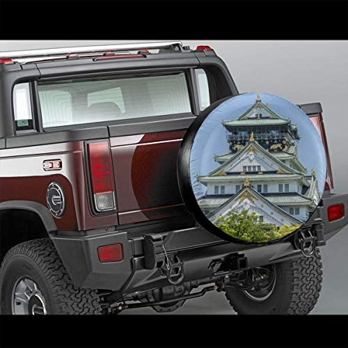スペア タイヤ カバー タイヤ 収納 保管カバー 車用 14 Inch