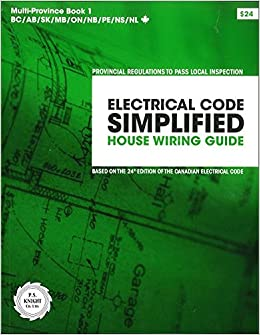 Electrical Code Simplified: Residential Wiring, Multi Province: P.S. ...