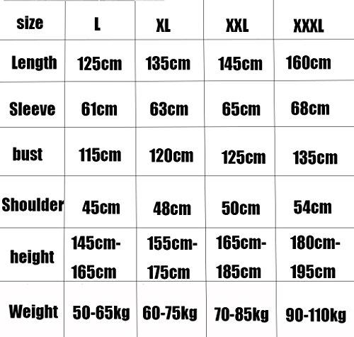 taille Mode Le Épaississement En Camping Vêtements A vent Et Plein Hommes Adulte Imperméables Imperméable Long Sport Femmes Air De Xxl Coupe Extérieur Pour attq81w