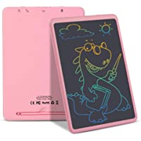 LCD Writing Tablet, 11 Inch Electronic Writing and Drawing Board, Erasable Reusable Doodle Pad Tablet for Kids and…
