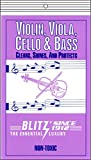 Blitz Music Care 333-4x Violin, Viola, Cello & Bass Care with 2 Cloths Each Pack, Pack of 4