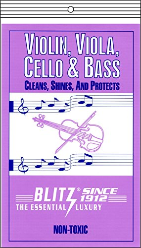 Price comparison product image Blitz Music Care 333 Violin, Viola, Cello & Bass Care with 2 Cloths