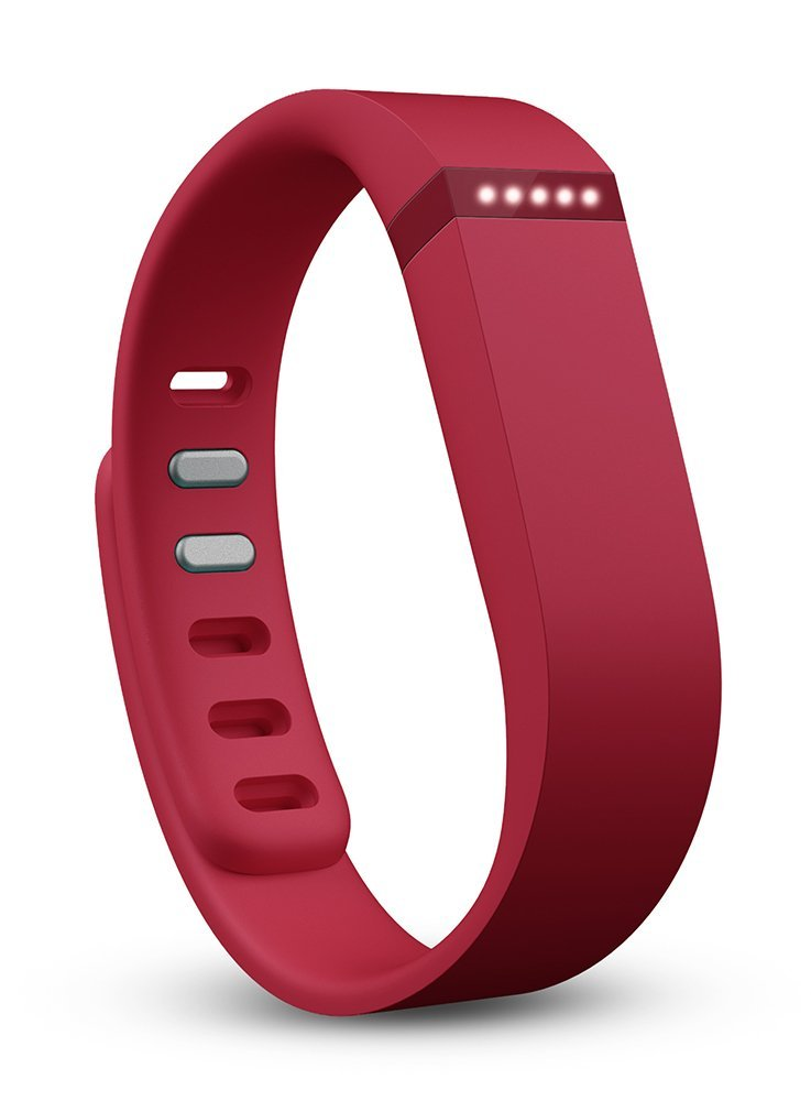 Fitbit Flex Activity and Sleep Tracker Wristband Android iOS FB401FLEXRED - Red