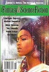 """Starlight Express"", Michael Swanwick, ""The Hermit of Houston"" by Samuel R. Delaney"