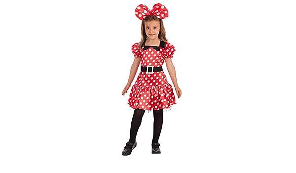Carnival Toys – Disfraz Minnie Mouse para niña unisex-child ...