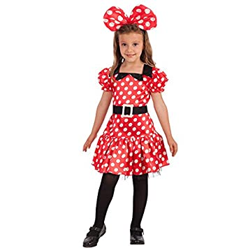 Carnival Toys - Disfraz Minnie Mouse para niña unisex-child ...