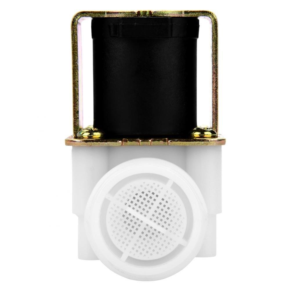 4Electrov/álvula magn/ética el/éctrica V/álvula de entrada de agua Acouto DC 12V DN20 G3 pl/ástico lat/ón