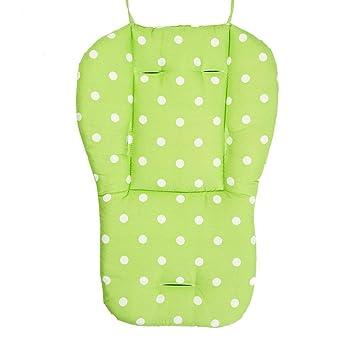 Langlebig Dickes Kind Kleinkind Kinderwagen Polsterung Liner Kissen Autositz Kinderwagen Kinderwagen Mat Kinderwagen Color : Green