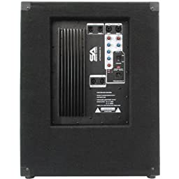 Seismic Audio - Aftershock-18 - Powered PA 18\