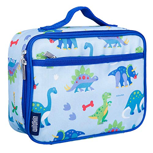 Wildkin Kids Insulated Lunch Box for Boys and Girls, Perfect Size for Packing Hot or Cold Snacks for School and Travel, Patterns Coordinate with Our Backpacks and Duffel Bags (Cooler Boxes Lunch)