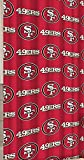 San Francisco 49ers Decorative Bath Collection - Shower Curtain by Northwest