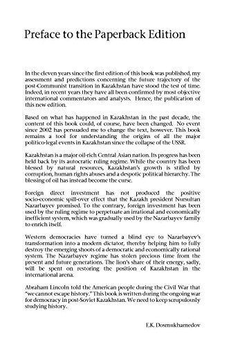 Foreign Direct Investment in Kazakhstan: Politico-Legal Aspects of Post-Communist Transition