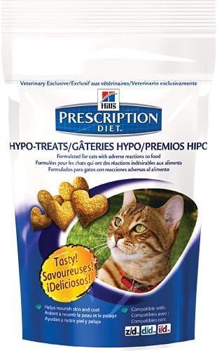 Hill s Prescription Diet Feline Hypo-Treats Cat Treats 2.5 oz 12 Bags