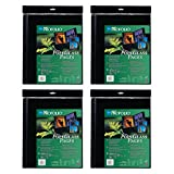 Itoya A2 Size Art Profolio Polyglass Pages (16.5'' x 23.4'') 4 Pack