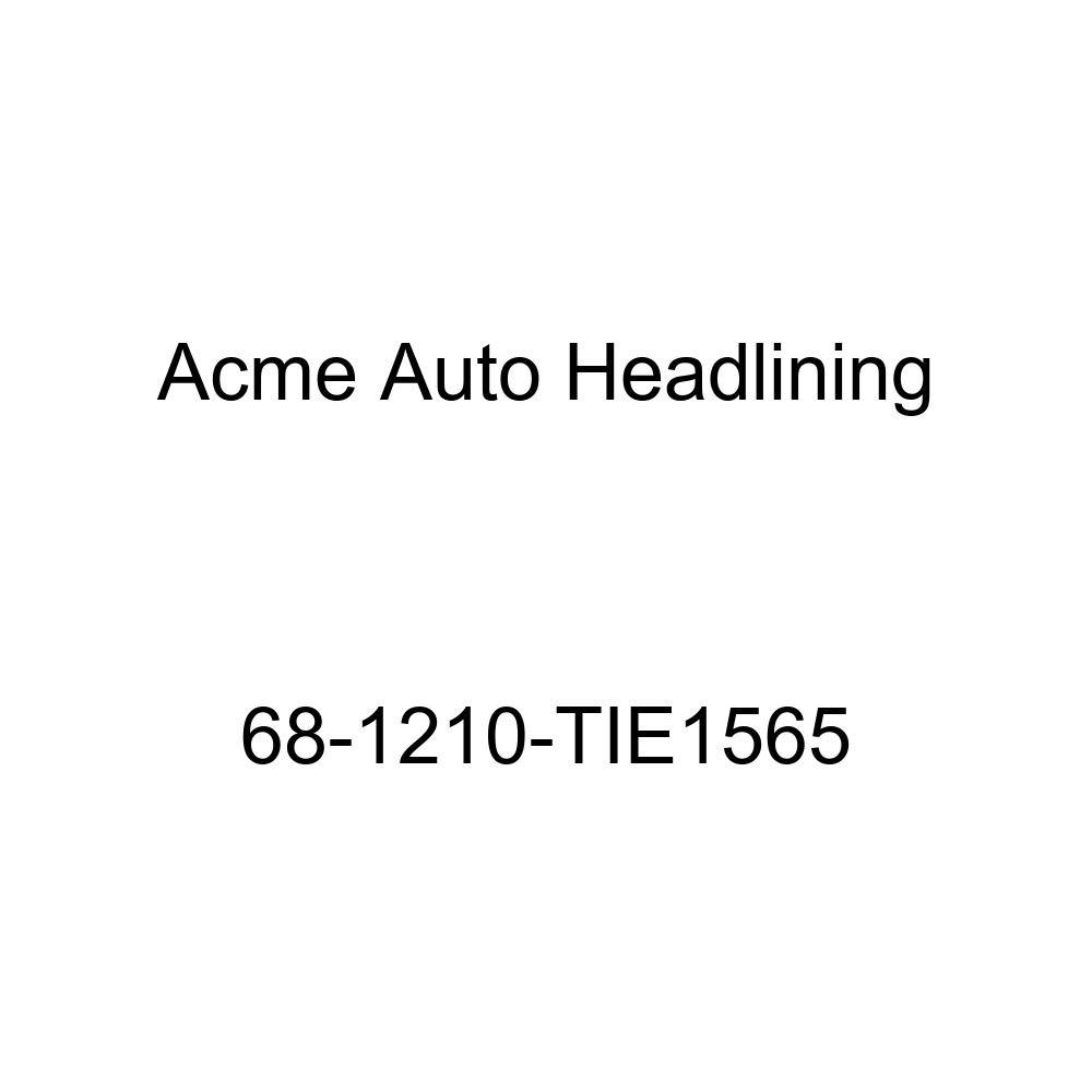 Acme Auto Headlining 68-1210-TIE1565 Wedgewood Replacement Headliner Oldsmobile Delmont 88 /& Delta 88 2 Dr Hardtop 5 Bows