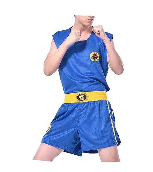 Adulto Azul Adulto Traje de Entrenamiento de Boxeo de Ropa ...