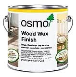 Osmo Wood Wax Finish - Transparent - 3118 Graphite Grey - 2.5 Liter