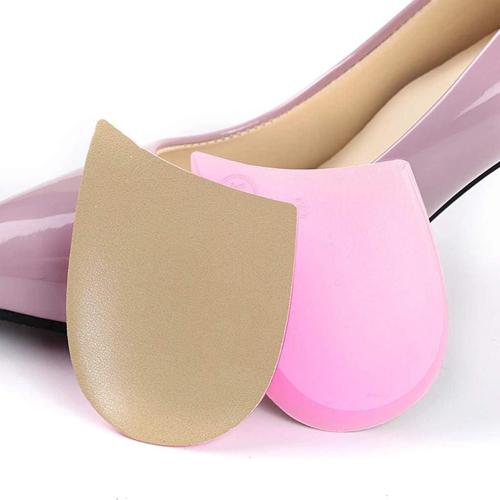 5 pares de PU y gel Tipo O/X Piernas Corrección Talón Cuña Plantillas de silicona Zapatos de apoyo ortopédicos Cojín para alineación de pies