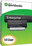 QuickBooks Enterprise 2017 Platinum Edition, 10-User (1-year subscription)