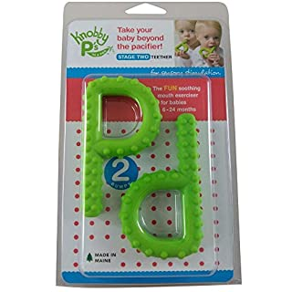 P & Q Chewy Tube Set Chew for Kids Autism ASD Awareness Speech Therapy Oral Best Selling Prod (2 Green P's (knobby))