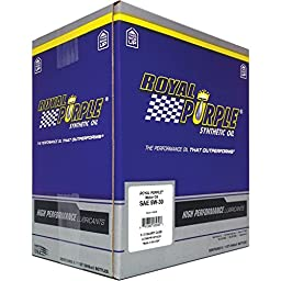 Royal Purple 06530-6PK API-Licensed SAE 5W-30 High Performance Synthetic Motor Oil - 1 qt. (Case of 6)