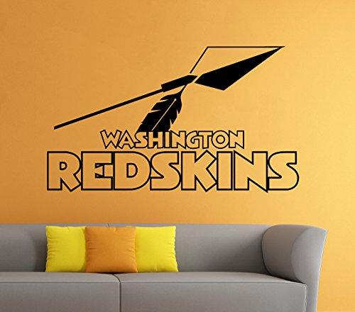 Washington Redskins Wall Vinyl Decal Sticker NFL Emblem Football Logo Sport Home Interior Removable Decor (22