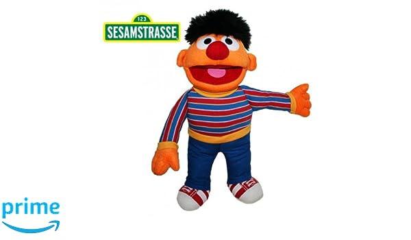 Living Puppets Sesame Street - Barrio Sésamo - Felpa Figura de Peluche Ernie 37 cm: Amazon.es: Juguetes y juegos