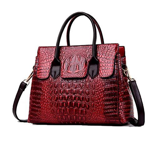 Sac À Crocodile De Motifs Femme Red Cuir En Sacs Classique Élégant Main Bandoulière Td1nSdx8qZ