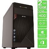 MAXCORE Desktop PC CPU Computer - Intel Core 2 Duo 2.66Ghz 6MB Cache / Zebronic Q33 Chipset Genuine Motherboard / Kingston 2 GB / Seagate 320GB HD !!!FREE MINI USB WIFI DONGLE