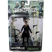 1999 Warner Brothers Toys La figura de acción de Matrix - Trinity with Coat