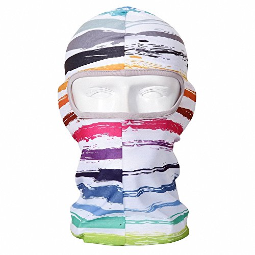 Maoko Printing Polyester Full Balaclava Dust-Proof- Hood Face Mask Hat Windproof BM-09